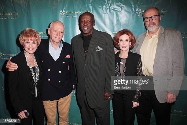 Actress Karen SharpeKramer actor Rick O'Barry actor Louis Gossett Jr Kat Kramer and screenwriter Rick Overton attend Kat Kramer's Films That Change...