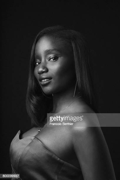 Actress Karidja Touré is photographed for Plugged Magazine on May 5 2017 in Paris France