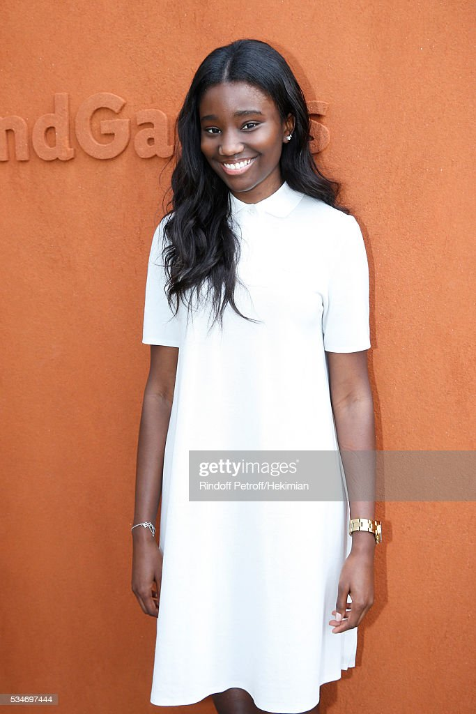 Actress Karidja Toure attends the 2016 French Tennis Open - Day Six at Roland Garros on May 27, 2016 in Paris, France.