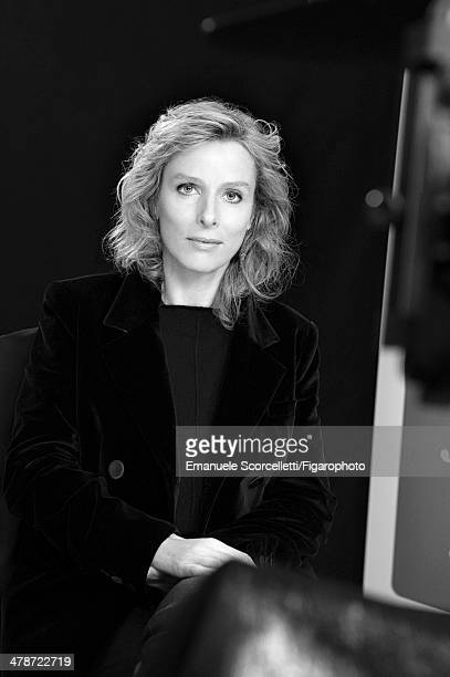 108881016 Actress Karin Viard is photographed for Madame Figaro on January 20 2014 in Paris France PUBLISHED IMAGE CREDIT MUST READ Emanuele...