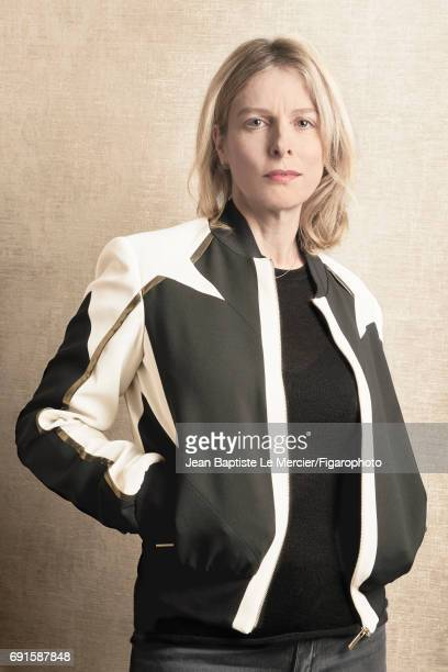 Actress Karin Viard is photographed for Madame Figaro on September 27 2015 in Paris France CREDIT MUST READ Jean Baptiste Le...