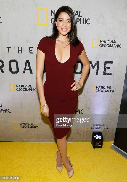 Actress Karina Ortiz attends 'The Long Road Home' Washington DC Premiere on October 25 2017 at National Geographic in Washington DC