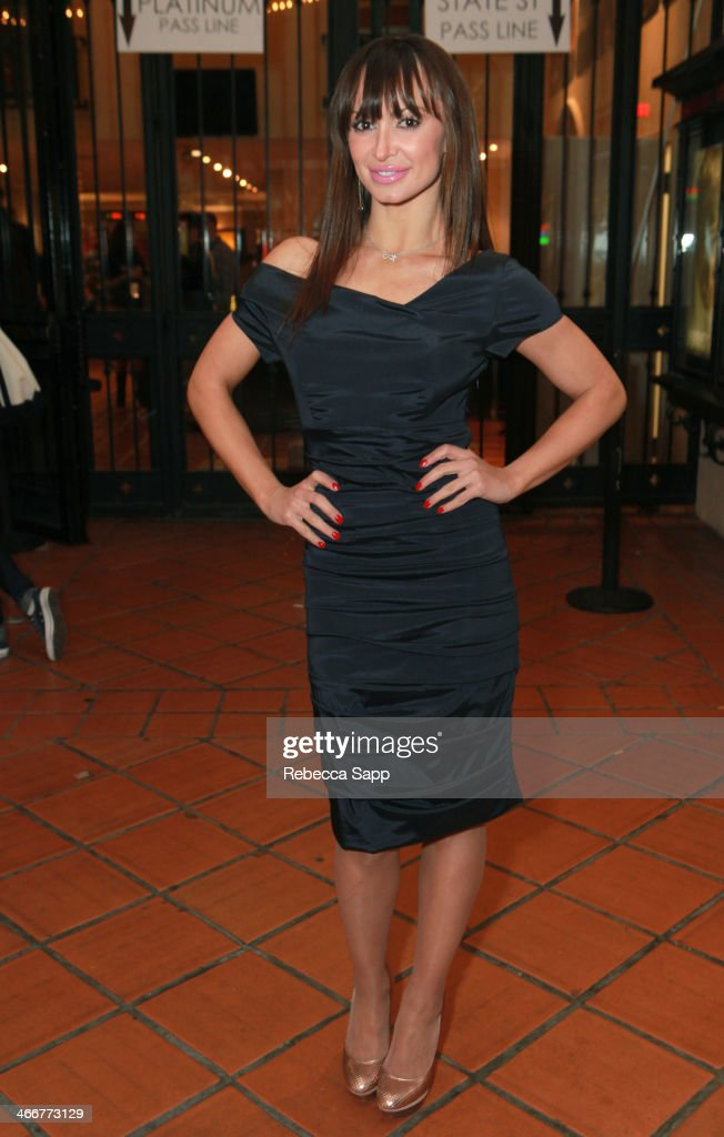Actress Karina Smirnoff attends a screening at the Metro at the 29th Santa Barbara International Film Festival on February 3, 2014 in Santa Barbara, California.