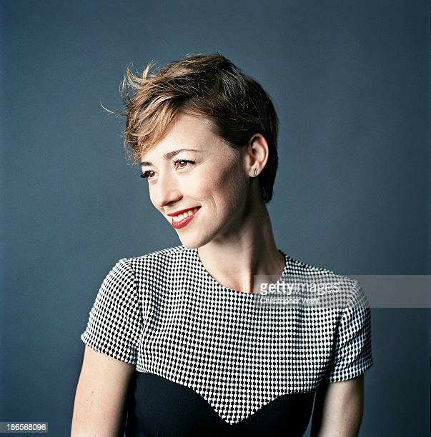 Actress Karine Vanasse is photographed for Men's Fashion on September 1 2013 in Toronto Ontario PUBLISHED IMAGE