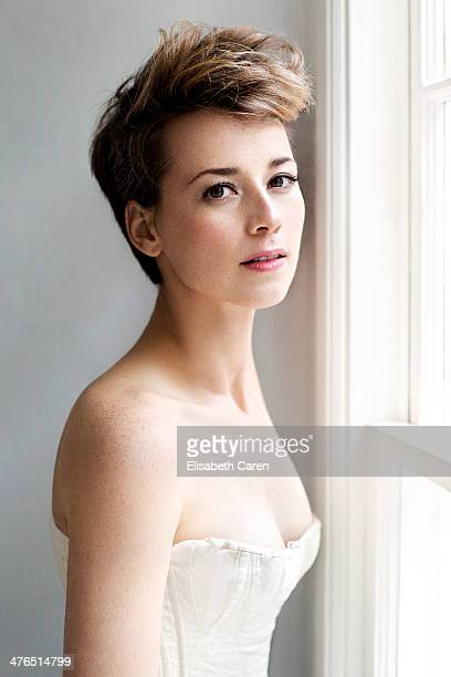 Karine Vanasse Stock Photos And Pictures Getty Images