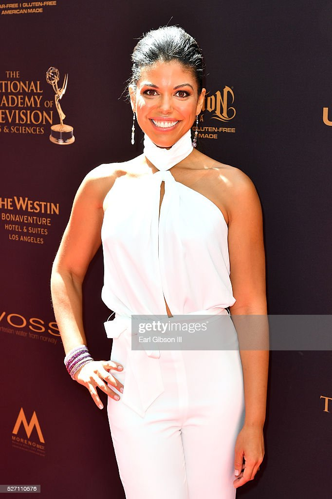 Actress <a gi-track='captionPersonalityLinkClicked' href=/galleries/search?phrase=Karla+Cheatham+Mosley&family=editorial&specificpeople=11009378 ng-click='$event.stopPropagation()'>Karla Cheatham Mosley</a> arrives at the 43rd Annual Daytime Emmy Awards at the Westin Bonaventure Hotel on May 1, 2016 in Los Angeles, California.