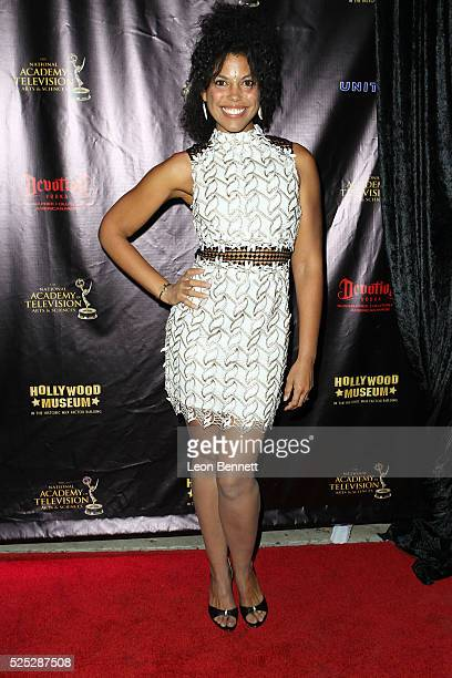 Actress Karla Cheatham Mosley attends the 2016 Daytime Emmy Awards Nominees Reception Arrivals at The Hollywood Museum on April 27 2016 in Hollywood...