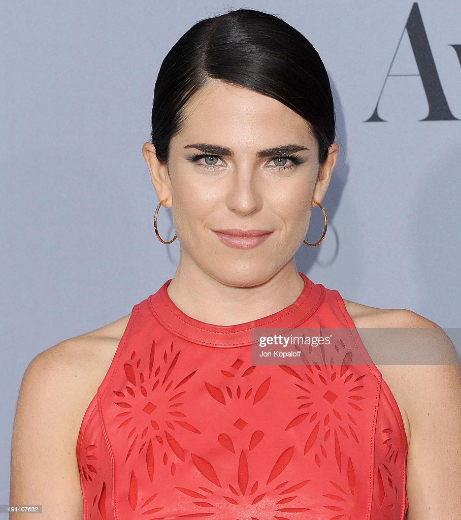 Actress Karla Souza arrives at the InStyle Awards at Getty Center on October 26 2015 in Los Angeles California