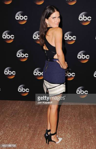 Actress Karla Souza arrives the Disney|ABC Television Group 2014 Television Critics Association Summer Press Tour at The Beverly Hilton Hotel on July...