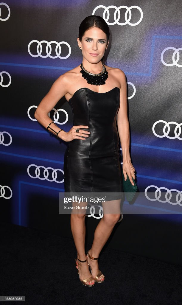 Actress Karla Souza attends Audi Emmy Week Celebration at Cecconi's Restaurant on August 21, 2014 in Los Angeles, California.
