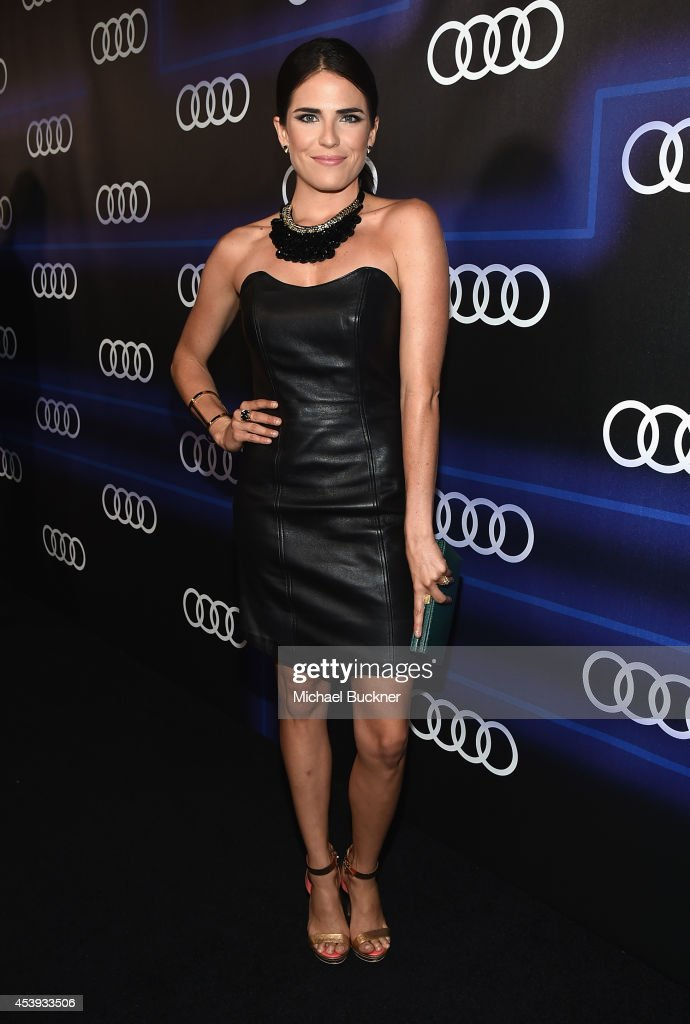 Actress Karla Souza attends Audi's Celebration of Emmys Week 2014 at Cecconi's Restaurant on August 21, 2014 in Los Angeles, California.