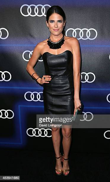 Actress Karla Souza attends the Audi celebration of Emmys Week 2014 at Cecconi's Restaurant on August 21 2014 in Los Angeles California