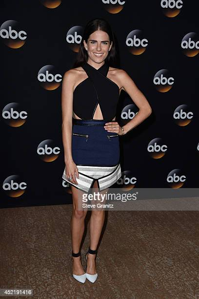 Actress Karla Souza attends the Disney/ABC Television Group 2014 Television Critics Association Summer Press Tour at The Beverly Hilton Hotel on July...