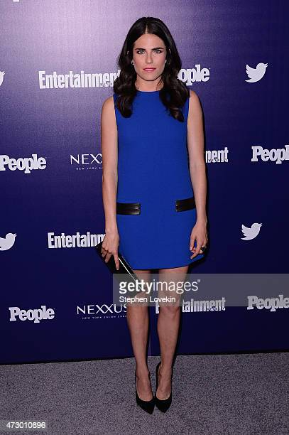 Actress Karla Souza attends the Entertainment Weekly and PEOPLE celebration of The New York Upfronts at The Highline Hotel on May 11 2015 in New York...