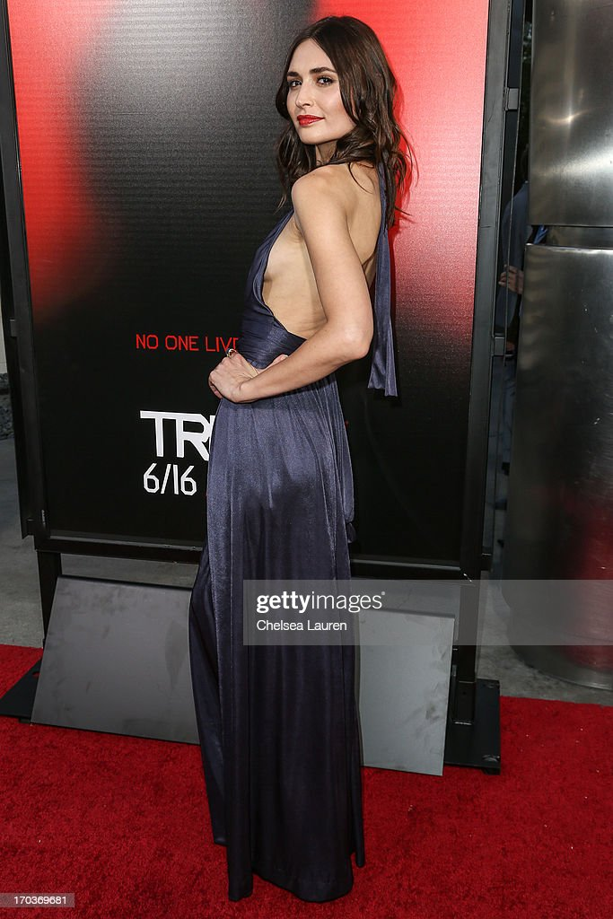 Actress Karolina Wydra arrives at HBO's 'True Blood' season 6 premiere at ArcLight Cinemas Cinerama Dome on June 11, 2013 in Hollywood, California.