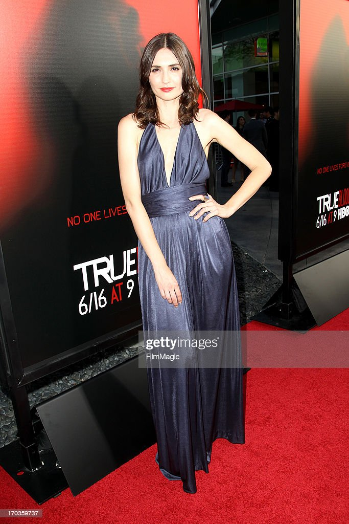 Actress Karolina Wydra attends HBO's 'True Blood' season 6 premiere at ArcLight Cinemas Cinerama Dome on June 11, 2013 in Hollywood, California.