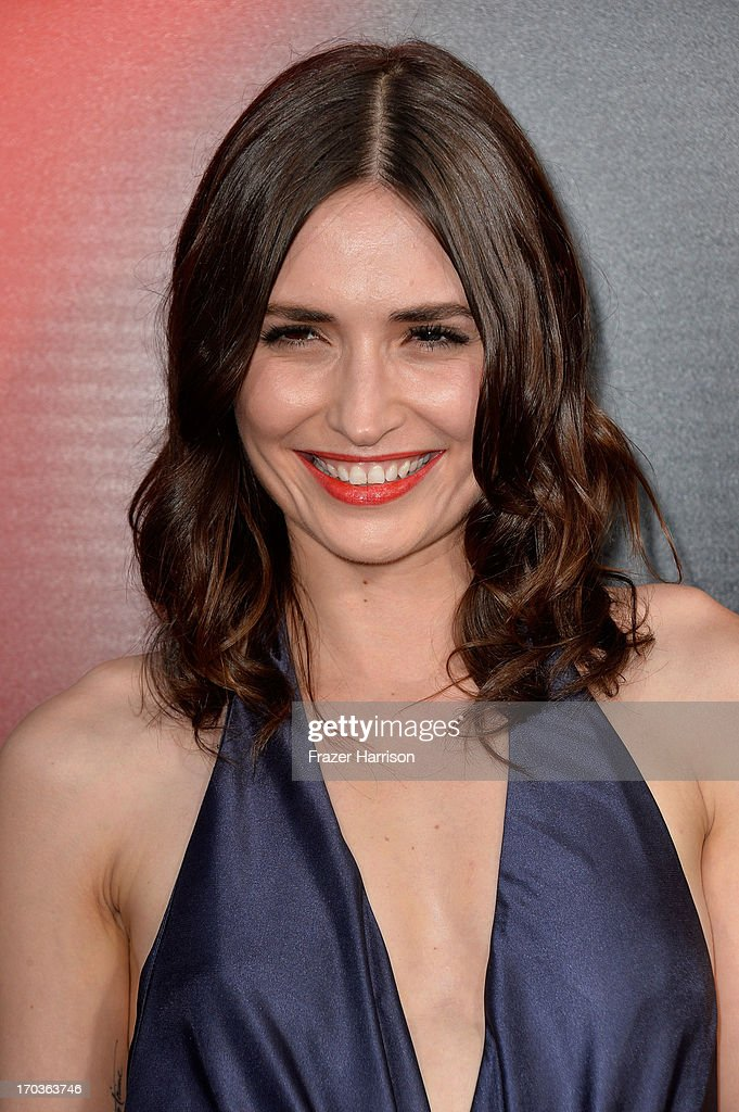 Actress Karolina Wydra attends the premiere of HBO's 'True Blood' Season 6 at ArcLight Cinemas Cinerama Dome on June 11, 2013 in Hollywood, California.