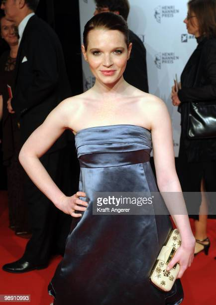 Actress Karoline Herfurth attends the HenriNannenAward at the Schauspielhaus on May 7 2010 in Hamburg Germany