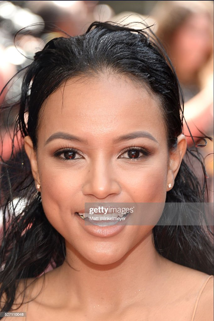 Actress <a gi-track='captionPersonalityLinkClicked' href=/galleries/search?phrase=Karrueche+Tran&family=editorial&specificpeople=9447374 ng-click='$event.stopPropagation()'>Karrueche Tran</a> arrives at the 43rd Annual Daytime Emmy Awards at the Westin Bonaventure Hotel on May 1, 2016 in Los Angeles, California.
