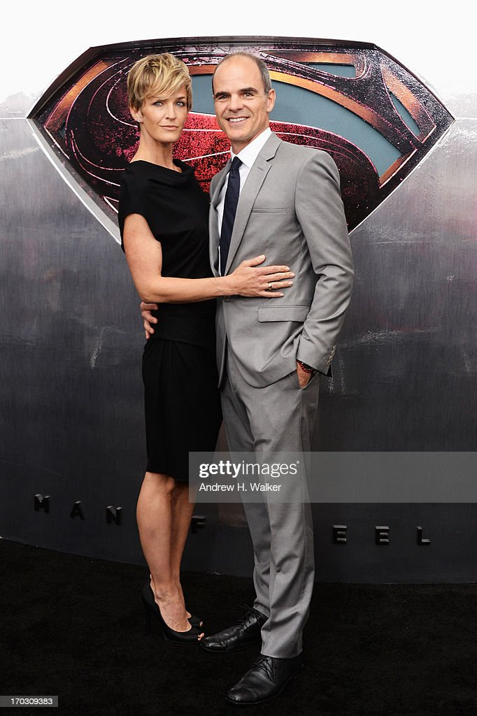 Actress Karyn Mendel and Actor Michael Kelly attend the 'Man Of Steel' world premiere at Alice Tully Hall at Lincoln Center on June 10, 2013 in New York City.