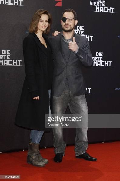 Actress Kasia Smutniak and actor Moritz Bleibtreu attend 'Die Vierte Macht' World Premiere at CineStar on March 1 2012 in Berlin Germany