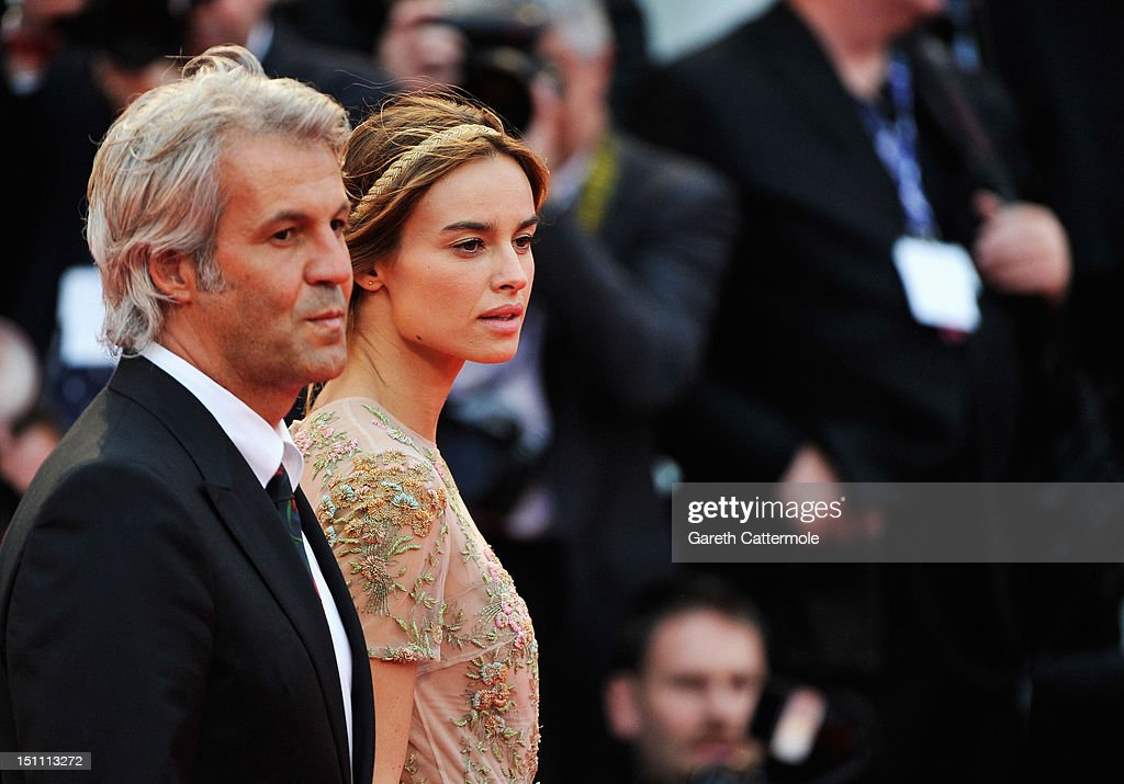 Actress Kasia Smutniak (R) and producer Domenico Procacci attend 'The Master' Premiere during The 69th Venice Film Festival at the Palazzo del Cinema on September 1, 2012 in Venice, Italy.