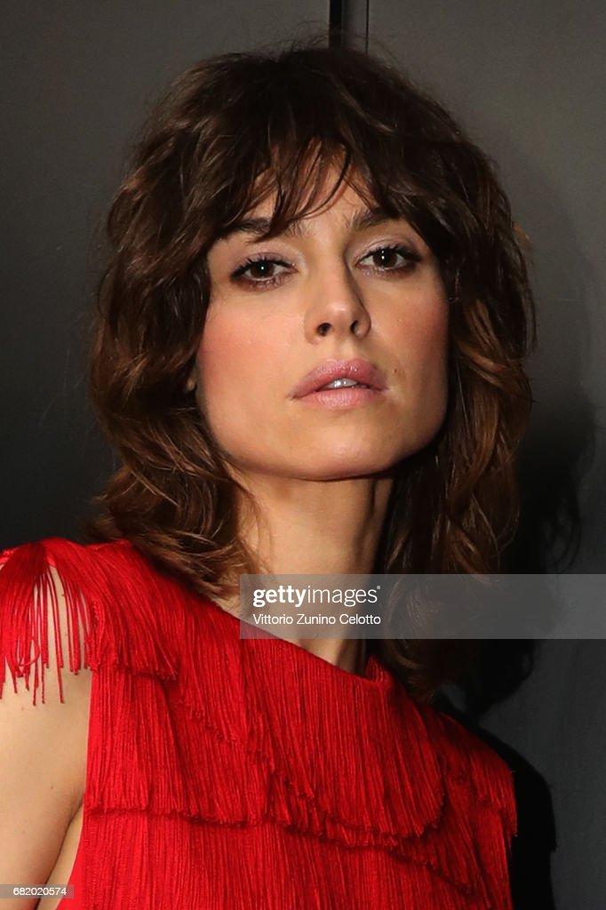 Actress Kasia Smutniak attends the Leonia Frescobaldi Award at Triennale di Milano on May 11, 2017 in Milan, Italy.
