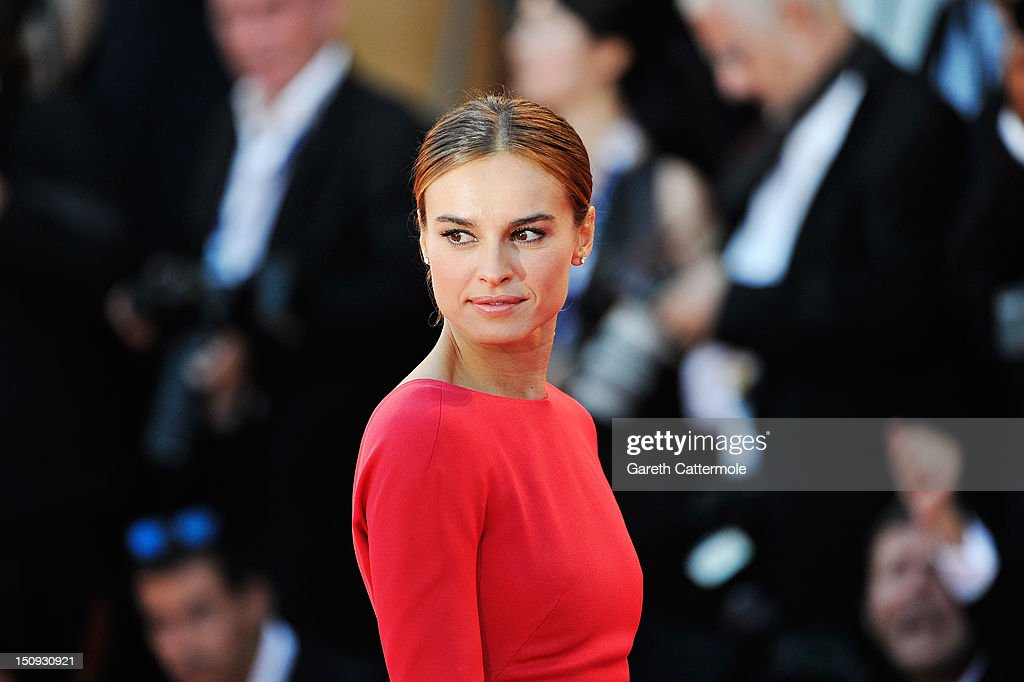 Actress Kasia Smutniak attends 'The Reluctant Fundamentalist' Premiere And Opening Ceremony during the 69th Venice International Film Festival at Palazzo del Cinema on August 29, 2012 in Venice, Italy.