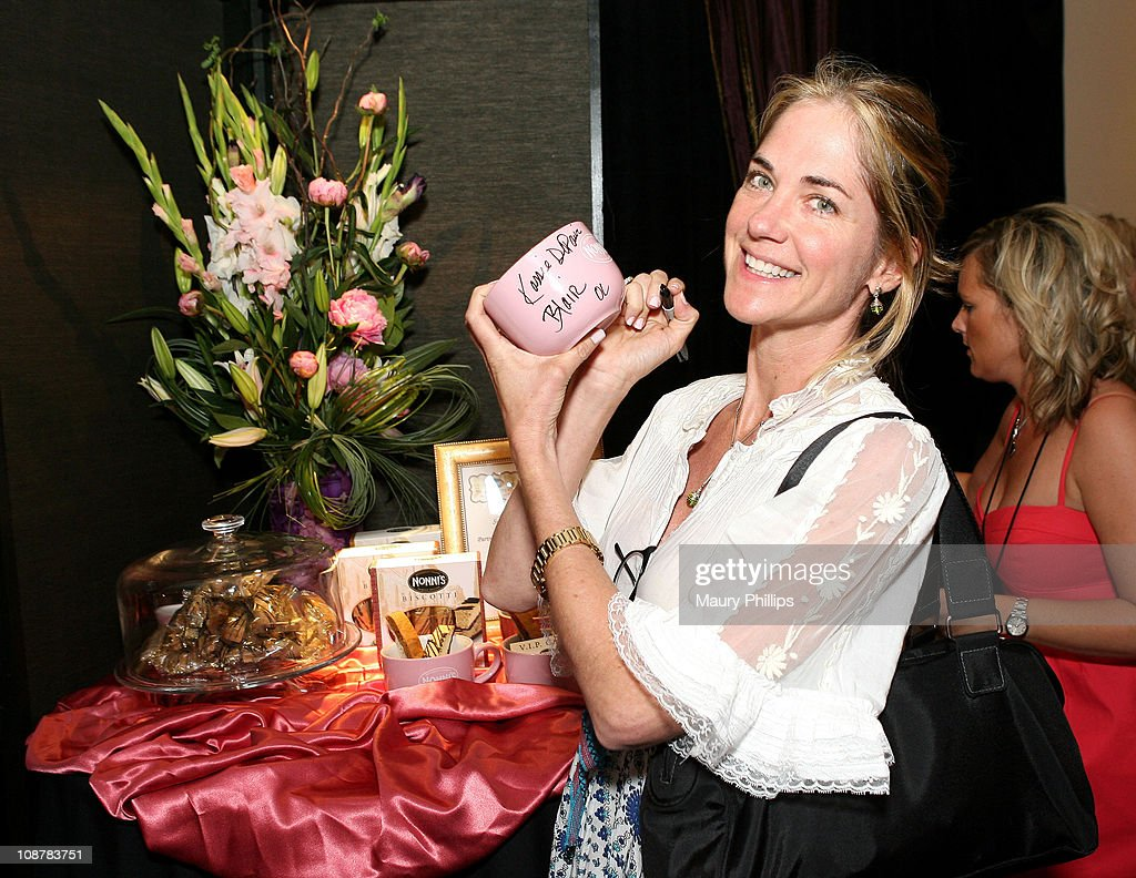 Actress <a gi-track='captionPersonalityLinkClicked' href=/galleries/search?phrase=Kassie+DePaiva&family=editorial&specificpeople=663696 ng-click='$event.stopPropagation()'>Kassie DePaiva</a> poses in the Daytime Emmy official gift lounge produced by On 3 Productions held at the Kodak Theatre on June 19, 2008 in Hollywood, California.