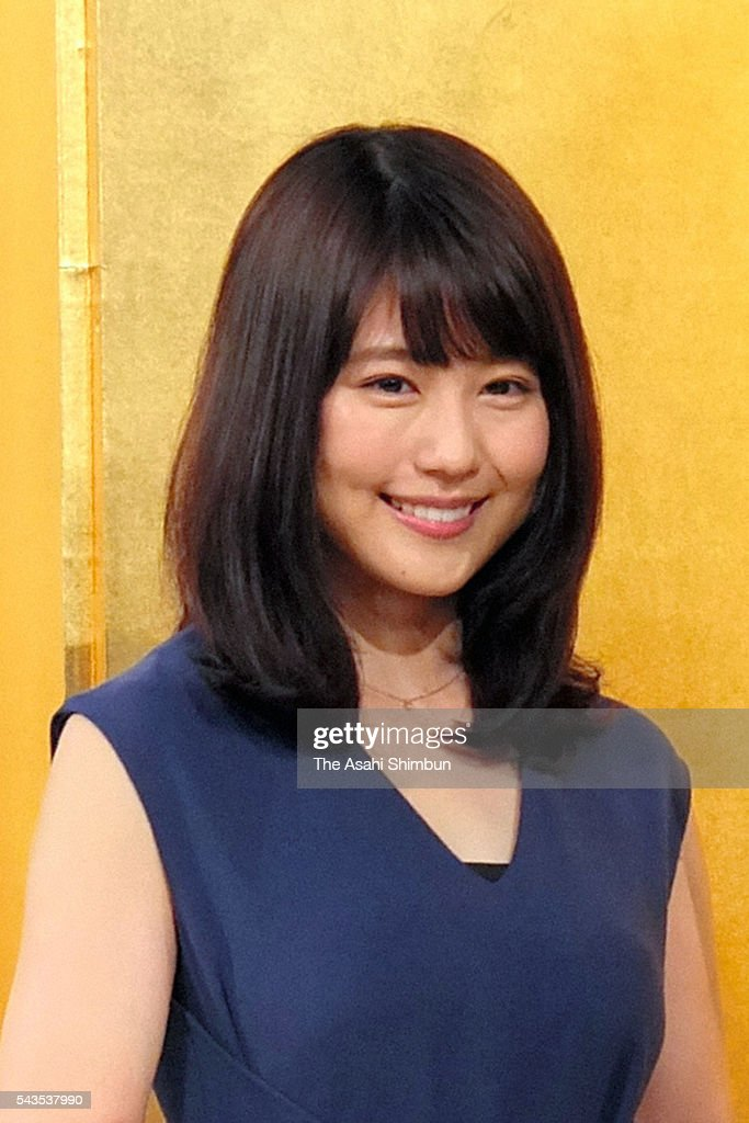 Actress <a gi-track='captionPersonalityLinkClicked' href=/galleries/search?phrase=Kasumi+Arimura&family=editorial&specificpeople=13690573 ng-click='$event.stopPropagation()'>Kasumi Arimura</a> attends the NHK's new morning television drama series 'Hiyokko' press conference on June 29, 2016 in Tokyo, Japan.