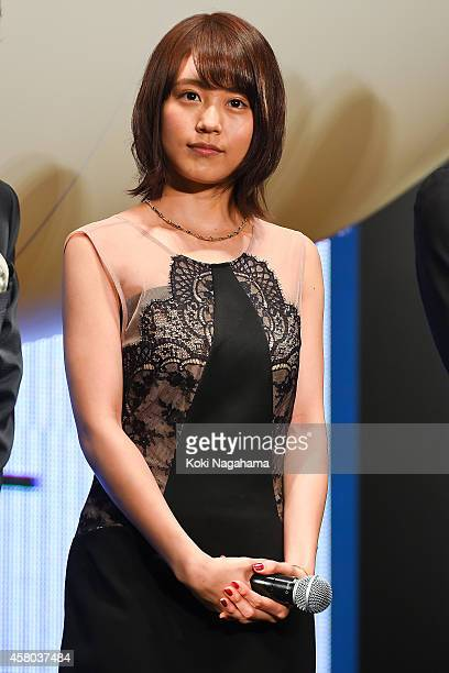Actress Kasumi Arimura attends the world premiere of 'The Nutcracker' during the 27th Tokyo International Film Festival at Roppongi Hills on October...