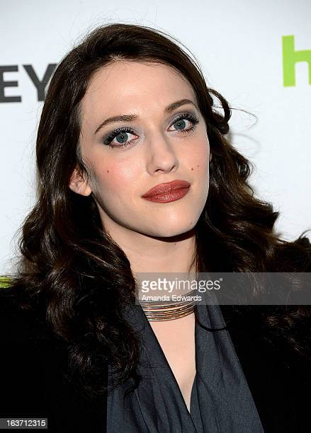 Actress Kat Dennings arrives at the 30th Annual PaleyFest The William S Paley Television Festival featuring '2 Broke Girls' at the Saban Theatre on...