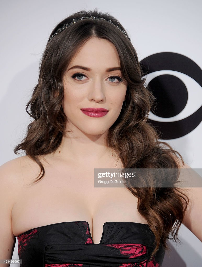 Actress <a gi-track='captionPersonalityLinkClicked' href=/galleries/search?phrase=Kat+Dennings&family=editorial&specificpeople=846118 ng-click='$event.stopPropagation()'>Kat Dennings</a> arrives at the 40th Annual People's Choice Awards at Nokia Theatre LA Live on January 8, 2014 in Los Angeles, California.
