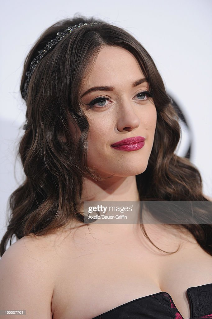 Actress <a gi-track='captionPersonalityLinkClicked' href=/galleries/search?phrase=Kat+Dennings&family=editorial&specificpeople=846118 ng-click='$event.stopPropagation()'>Kat Dennings</a> arrives at The 40th Annual People's Choice Awards at Nokia Theatre L.A. Live on January 8, 2014 in Los Angeles, California.