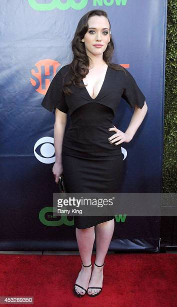 Actress Kat Dennings arrives at the CBS The CW Showtime CBS Television Distribution 2014 Television Critics Association Summer Press Tour at Pacific...