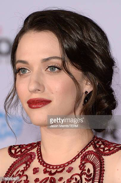 Actress Kat Dennings arrives at the premiere of Marvel's 'Thor The Dark World' at the El Capitan Theatre on November 4 2013 in Hollywood California