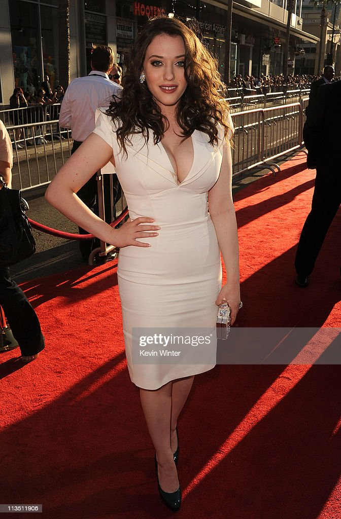 Actress Kat Dennings arrives at the premiere of Paramount Pictures' and Marvel's 'Thor' held at the El Capitan Theatre on May 2, 2011 in Los Angeles, California.