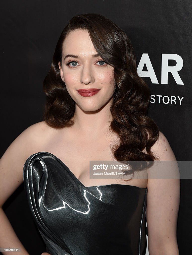 Actress <a gi-track='captionPersonalityLinkClicked' href=/galleries/search?phrase=Kat+Dennings&family=editorial&specificpeople=846118 ng-click='$event.stopPropagation()'>Kat Dennings</a> attends amfAR LA Inspiration Gala honoring Tom Ford at Milk Studios on October 29, 2014 in Hollywood, California.