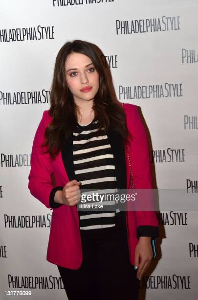 Actress Kat Dennings attends Philadelphia Style Magazine's 12th Anniversary Party at SugarHouse Casino on May 16 2011 in Philadelphia Pennsylvania