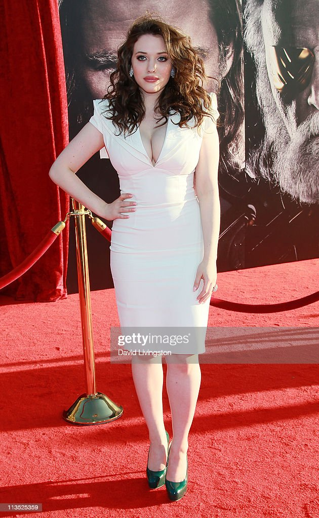 Actress Kat Dennings attends the premiere of Paramount Pictures' And Marvel's 'Thor' at the El Capitan Theatre on May 2, 2011 in Los Angeles, California.