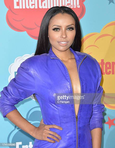 Actress Kat Graham arrives at Entertainment Weekly's Annual ComicCon Celebration at Float at Hard Rock Hotel San Diego on July 20 2013 in San Diego...