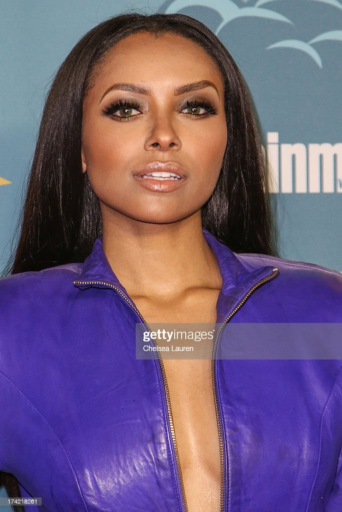 Actress Kat Graham arrives at Entertainment Weekly's annual Comic-Con celebration at Float at Hard Rock Hotel San Diego on July 20, 2013 in San Diego, California.