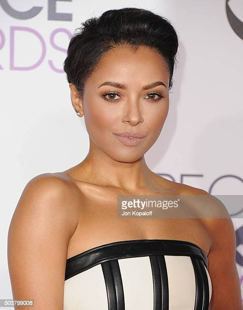 Actress Kat Graham arrives at People's Choice Awards 2016 at Microsoft Theater on January 6 2016 in Los Angeles California