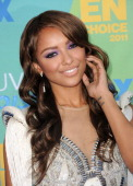 Actress Kat Graham arrives at the 2011 Teen Choice Awards held at the Gibson Amphitheatre on August 7 2011 in Universal City California