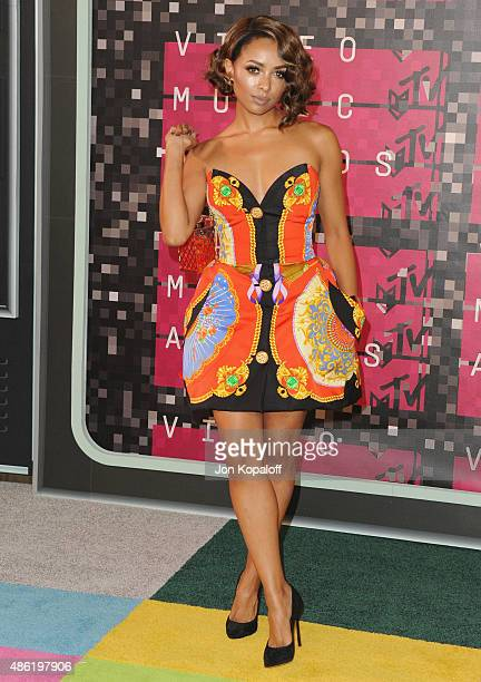 Actress Kat Graham arrives at the 2015 MTV Video Music Awards at Microsoft Theater on August 30 2015 in Los Angeles California