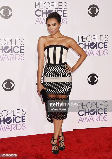 Actress Kat Graham arrives at the 2016 People's Choice Awards at Microsoft Theater on January 6 2016 in Los Angeles California