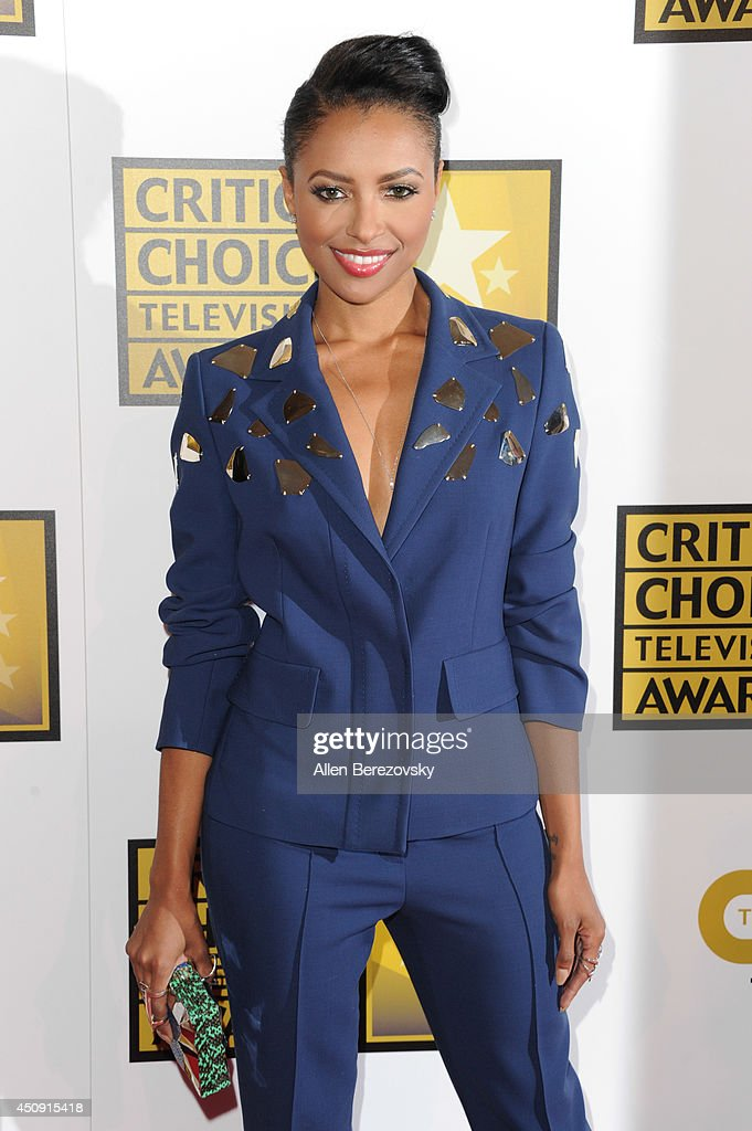 Actress Kat Graham arrives at the 4th Annual Critics' Choice Television Awards at The Beverly Hilton Hotel on June 19, 2014 in Beverly Hills, California.