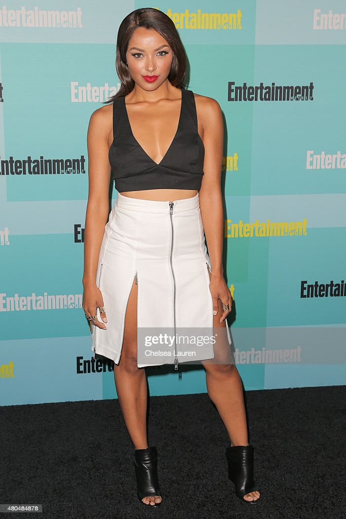 Actress Kat Graham arrives at the Entertainment Weekly celebration at Float at Hard Rock Hotel San Diego on July 11 2015 in San Diego California