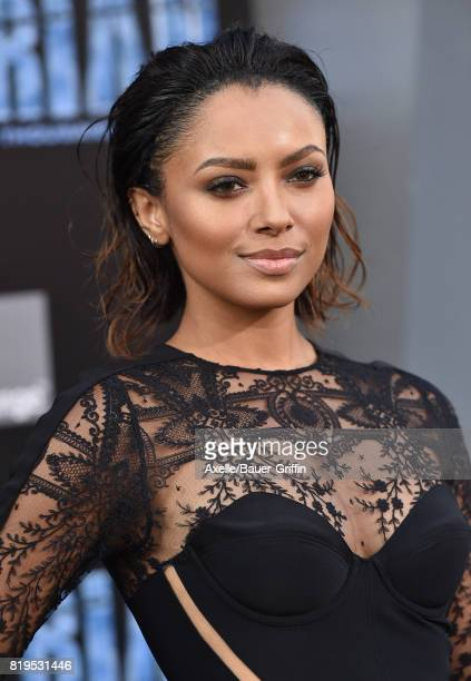 Actress Kat Graham arrives at the Los Angeles premiere of 'Valerian and the City of a Thousand Planets' at TCL Chinese Theatre on July 17 2017 in...