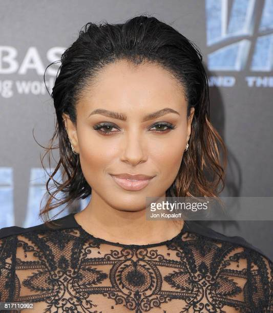 Actress Kat Graham arrives at the Los Angeles Premiere 'Valerian And The City Of A Thousand Planets' at TCL Chinese Theatre on July 17 2017 in...
